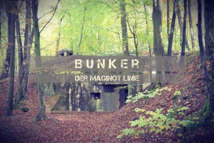 Bunker Maginot Linie